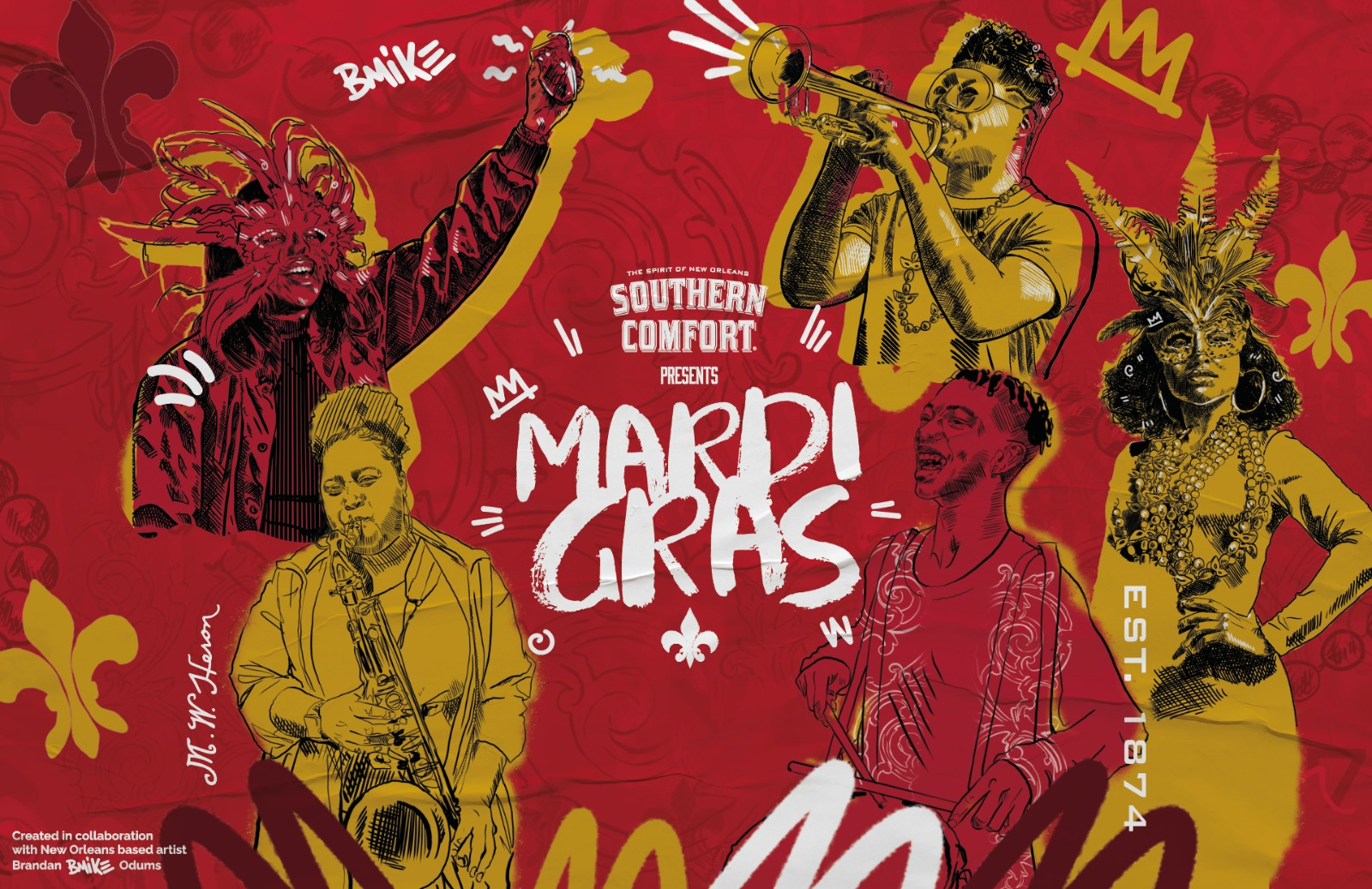 SOUTHERN COMFORT PRESENTS MARDI GRAS VIRTUAL PARTY!